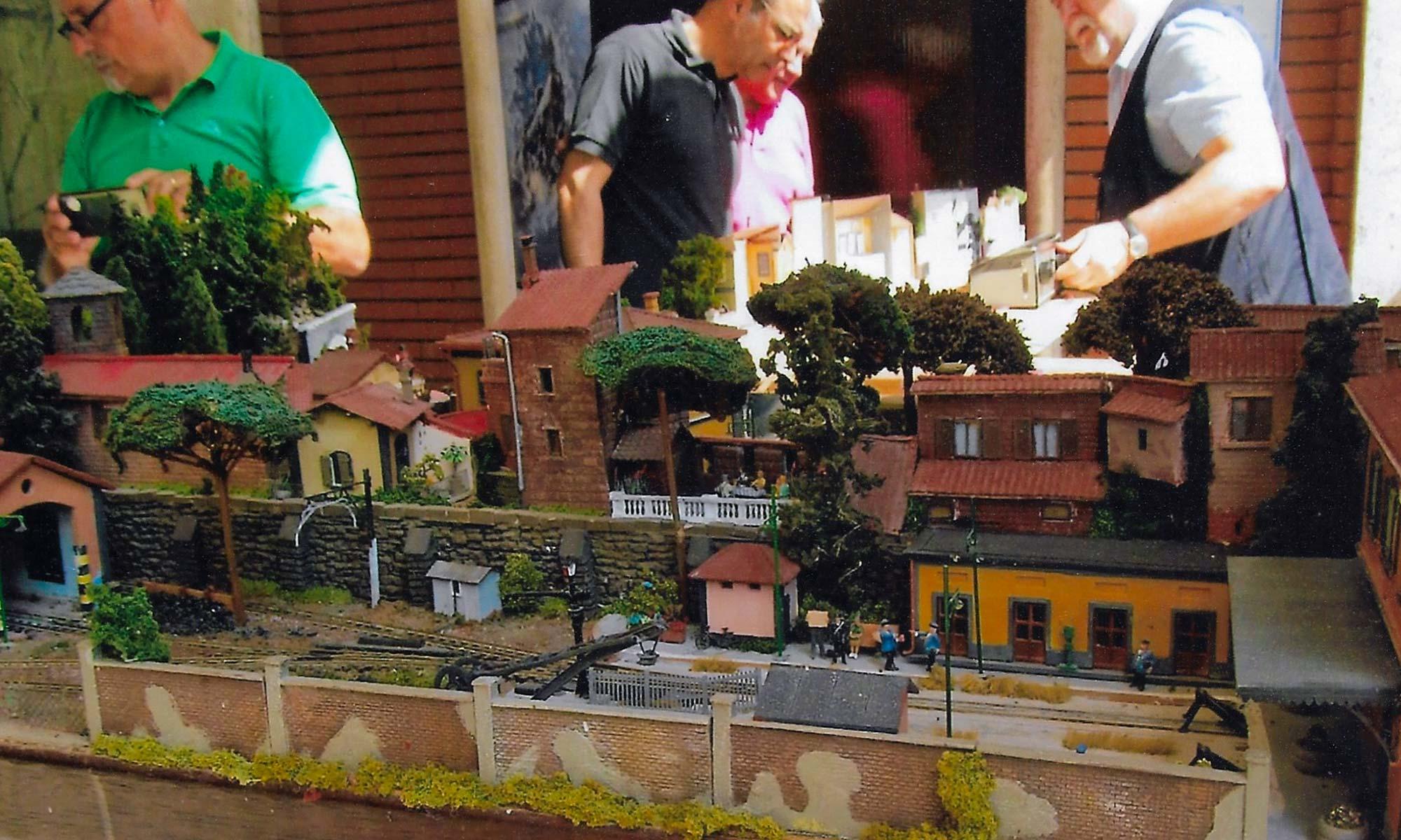 mostra ferromodellini il mio quartiere settebagni